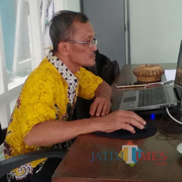 Mukayin, Ketua KONI kabupaten Banyuwangi (Nurhadi Banyuwangi Jatim Times)