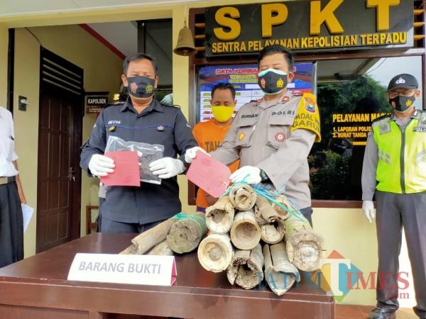 Curi Sarang Madu Klanceng, Pemuda di Blitar Diringkus Polisi