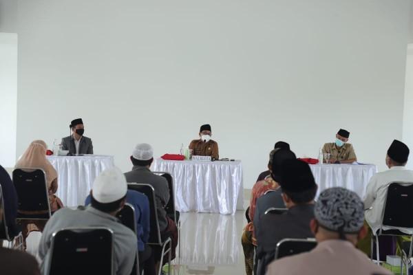 Pertemuan Wali Kota Malang Sutiaji bersama Hafiz Quran di wilayah Kota Malang, Selasa (26/1/2021). (Foto: Humas Pemkot Malang for MalangTIMES).