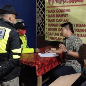 Tim Gabungan Temukan 515 Pelanggar Selama PPKM Tahap I di Kota Batu