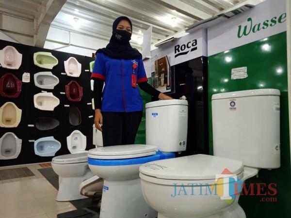 Graha Bangunan terus menghadirkan produk dan pelayanan terbaik untuk customer. (Foto : Aunur Rofiq/BlitarTIMES)
