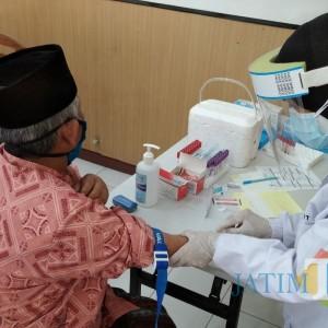 Forkopimda dan Tomas di Bondowoso Jalani Skrining Vaksin Covid-19