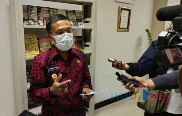 Foto: Wakil Wali Kota Batu, Punjul Santoso saat ditemui di Balai Kota Among Tani, Selasa (26/01/2021) kemarin