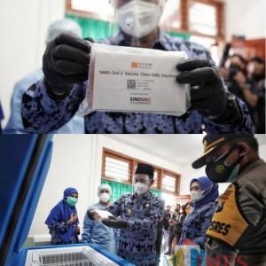 3.040 Vaksin Covid-19 Tiba di Kota Madiun, Inilah Orang Pertama yang akan Disuntik Vaksin