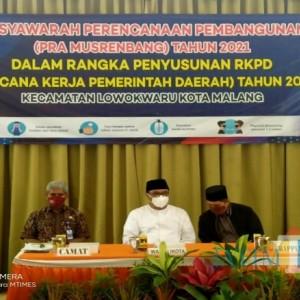 1.066 Usulan Masuk di Pra-Musrenbang Kecamatan Lowokwaru, Wawali Sampaikan Prioritas Ini