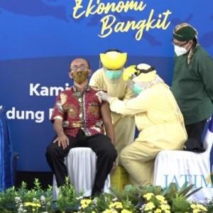 Divaksin Pertama, Begini Perasaan Penyandang Disabilitas Asal Kota Malang ini