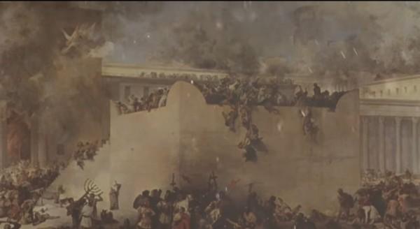 Ilustrasi kehancuran bangsa Yahudi (Ist)