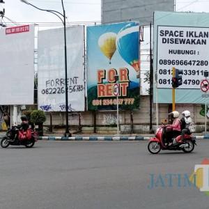 Pajak Reklame di Tulungagung  Turun Selama Pandemi