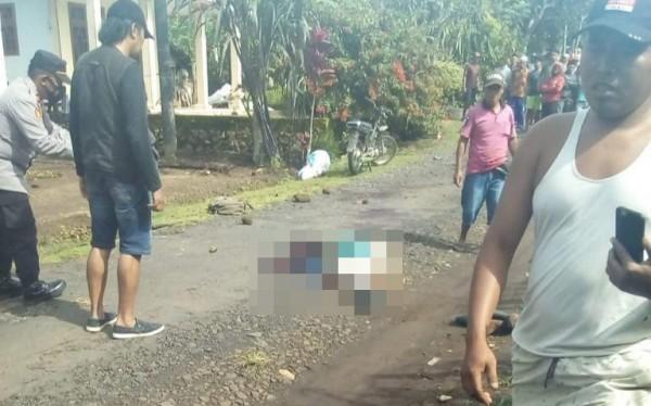Salah satu korban insiden berdarah di Kabupaten Malang. (istimewa)