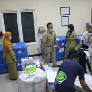 Tambahan Vaksin Sebanyak 14.080 Dosis Telah Datang di Kota Malang
