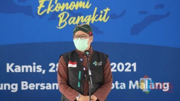 Juru Bicara Gugus Satgas Covid-19 Kota Malang dr Husnul Muarif. (Ahmad Amin/MalangTIMES).