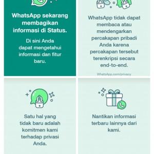 Wow...WhatsApp Bikin Status WA