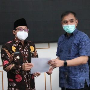 Pertama di Jawa Timur, Pemkot Malang Terima PSU Dari Pengembang Apartemen
