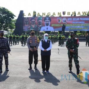 Angka Kasus Covid-19 di Jatim Turun, Sanksi Pelanggar Prokes Tetap Diperketat