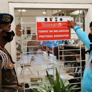 Langgar Protokol kesehatan, Sejumlah Kafe di Kota Blitar Dikenai Tipiring
