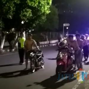 Balap Liar di Masa PPKM, Puluhan Pemuda di Blitar Diamankan Polisi