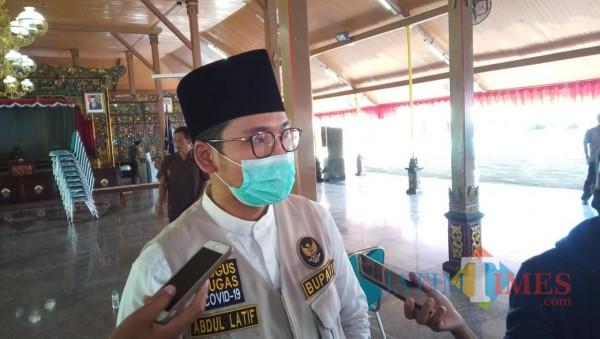 Bupati Bangkalan R Abdul Latif Amin Imron (Foto: Imam JatimTIMES)