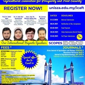 Dekan Fakultas Peternakan Unikama Jadi Keynote Speaker Seminar Internasional
