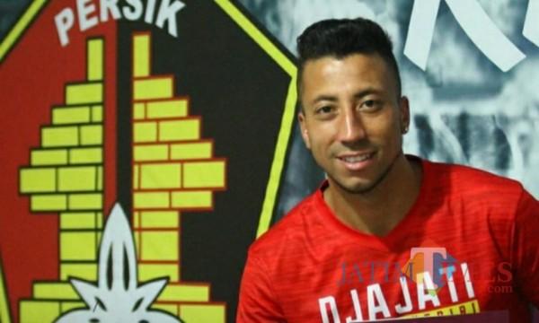 Jefferson Formigao pemain asing Persik Kediri tinggalkan klub.(ist)