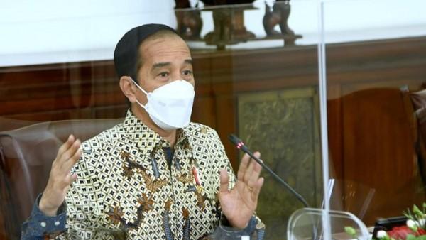 Rapat terbatas terkait PPKM, Jumat (29/1/2021)  (Foto:  Biro Pers Setpres)