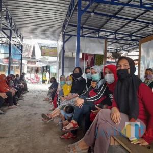 Tak Ada Solusi, Puluhan Pedagang  Mengadu ke DPRD Tulungagung