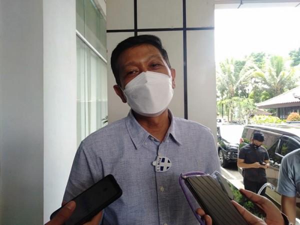 Sekda Kabupaten Malang Wahyu Hidayat saat menjelaskan kesiapan vaksinasi guna mewujudkan herd immunity. (Foto: Istimewa)