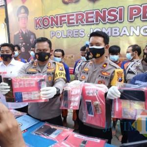 41 Budak Narkoba di Jombang Diringkus Polisi Sepanjang Awal Tahun 2021