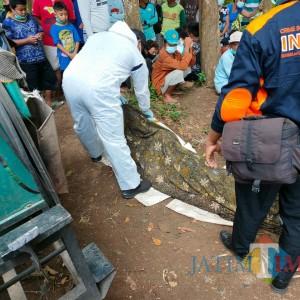 Tragis, Pria Asal Kediri Tewas Tenggelam di Sungai Lemon Binangun