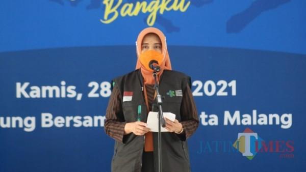 Plt Kepala Dinas Kesehatan (Dinkes) Kota Malang, Sri Winarni. (Ahmad Amin/MalangTIMES).