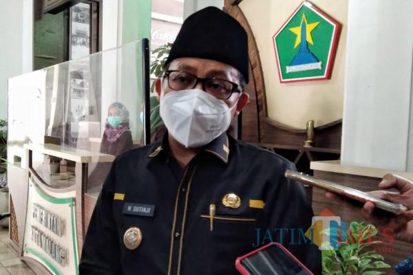 Wali Kota Malang Sutiaji saat ditemui awak media di Balai Kota Malang, Selasa (2/2/2021). (Foto: Dok. JatimTIMES)