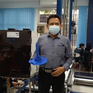 Dosen Teknik Elektro Polinema Lakukan Penelitian 3D Printing