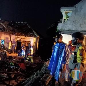 Sungai Kambeng Meluap, 5 Rumah Hanyut dan Dua Orang Hilang di Pasuruan