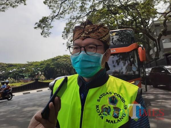 Direktur RSUD Kota Malang, dr Husnul Muarif. (Arifina Cahyanti Firdausi/MalangTIMES).).