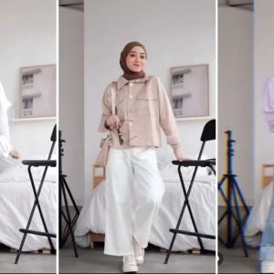 Wajib Dicoba nih, Outfit Kekinian ala Hijabers Meirani Amalia Untuk Sambut Weekend yang Ceria