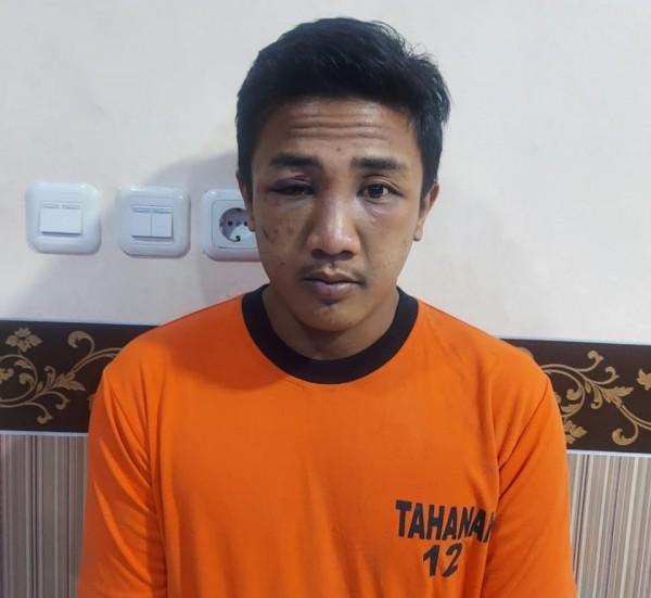 Pelaku SU yang ditangkap Polsek Poncokusumo (foto: Polsek Poncokusumo for MalangTIMES)