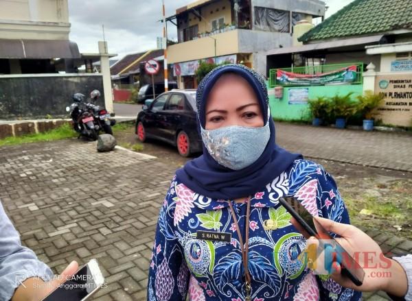 Plt Kepala Dinas Pendidikan dan Kebudayaan Siti Ratnasari. (Foto: Anggara Sudiongko/MalangTIMES)