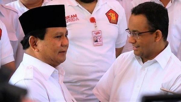 Anies Baswedan dan Prabowo Subianto (Foto: Tribunnewsmaker)