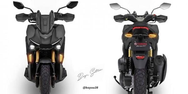 Yamaha X-Ride (Foto: Twitter @bayuu28)