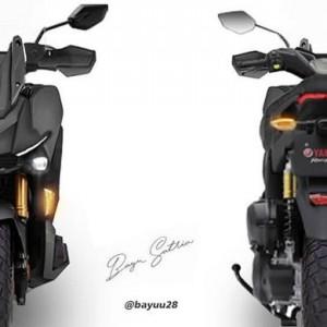 Yamaha X-Ride Dirumorkan Pakai Mesin Nmax untuk Tantang Honda ADV 150