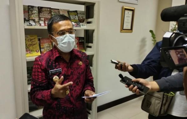 Wakil Walikota Batu, Punjul Santoso saat ditemui di Kantor Balai Kota Batu (foto: dok. BatuTIMES)