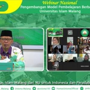 Di Webinar Nasional, Rektor Unisma Beber Kiat Jadi Guru Hebat Revolusi Industri 4.0