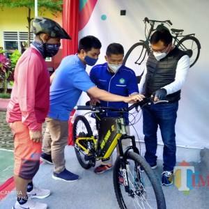 E-Bike dan Gas Bike Buatan Anak SMK, Wawali Malang Harap Bisa Dukung Industri Wisata