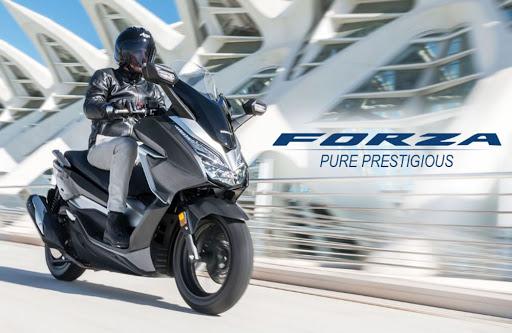 Honda Forza (Foto: Facebook)