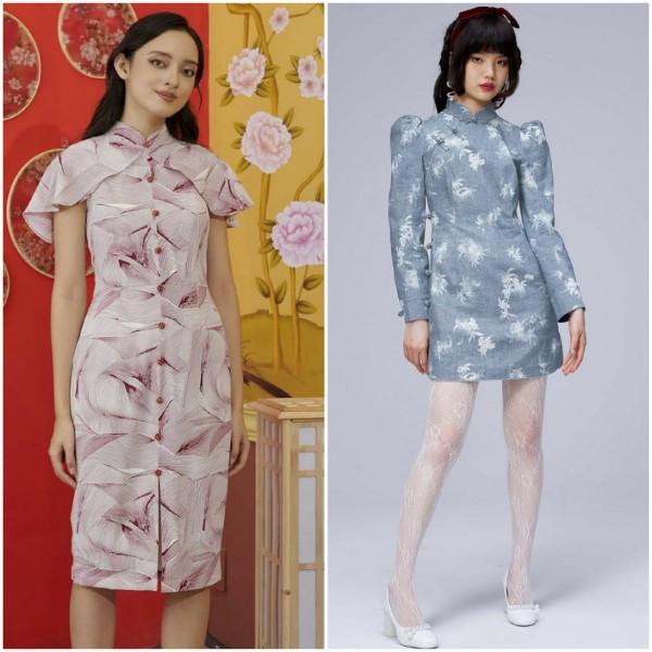 Inspirasi outfit cheongsam kekinian untuk sambut perayaan Imlek. (Foto: source Instagram).