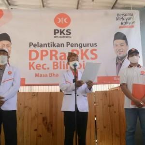Kukuhkan Kader Tiap Wilayah, DPC PKS Lantik Pengurus Baru DPRa Se-Kecamatan Blimbing