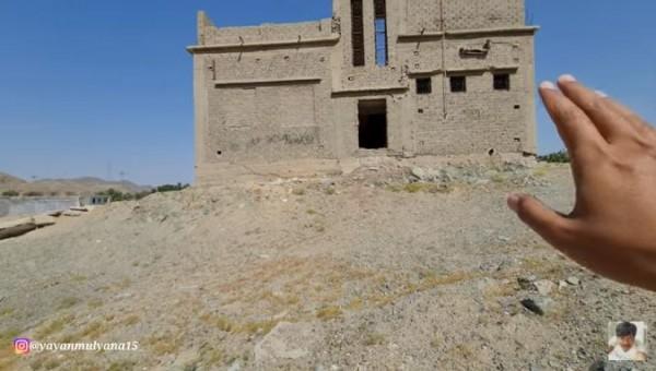 Rumah jin di Makkah (Foto: YouTube Alman Mulyana)