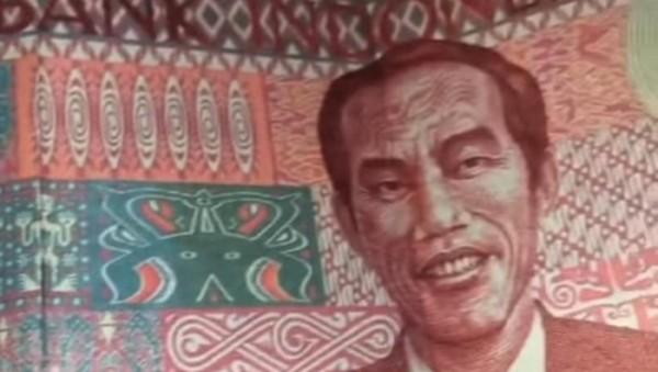 Uang Redenominasi Rp 100 Bergambar Presiden Jokowi (Foto: Instagram)