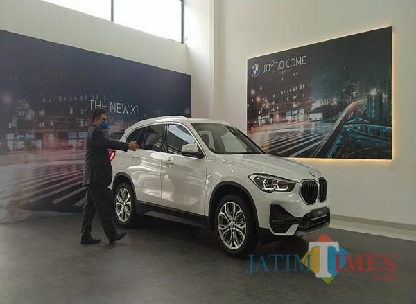BMW X1 sDrive18i, produk BMW varian baru yang meramaikan otomotif di Malang (Foto: Anggara Sudiongko/ MalangTIMES)