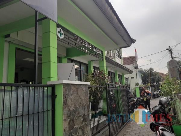 Gedung Puskesmas Bareng. (Arifina Cahyanti Firdausi/MalangTIMES).