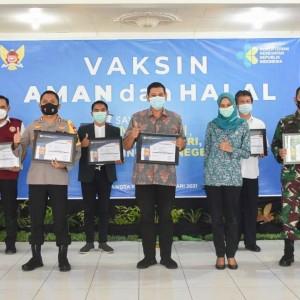 Vaksinasi Covid-19 Kota Kediri Tahap Kedua Dimulai